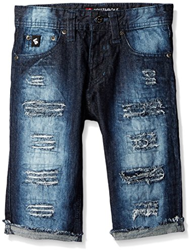 Southpole Washed Shorts Ripped Details