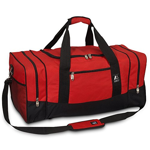 Price comparison product image Everest Luggage Sporty Gear Bag - Large - Crimson