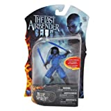 Paramount Movie Series The Last Airbender 4 Inch Tall Highly Articulated Action Figure - BLUE SPIRIT with Double Broadsword by The Last Airbender