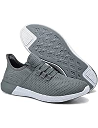 Men Casual Shoes Athletic Breathable Mesh Walking Soft Sole Lightweight Sport Running Sneakers