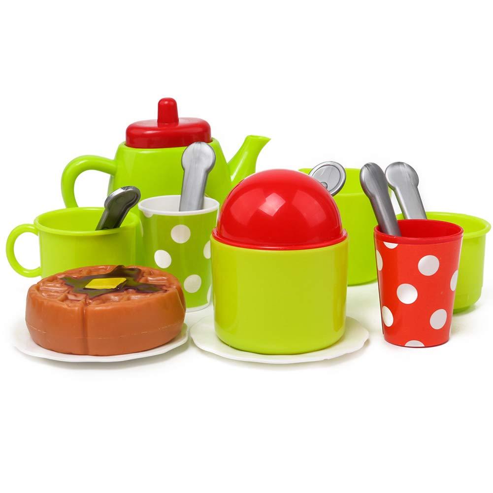 osmanthusFrag Simulation Tasse /à Caf/é Service /à Th/é Set De Cuisine Jouets pour Enfants