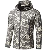 Shanghai Story Gear Military Special Ops Soft Shell Tactical Jacket XL ACU Camouflage