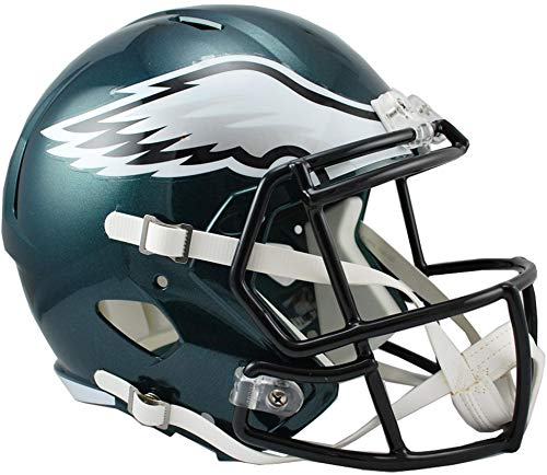 Riddell Philadelphia Eagles Revolution Speed Full-Size Replica Football Helmet - NFL Replica Helmets