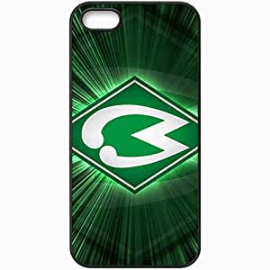 Personalized iPhone 5 5S Cell phone Case/Cover Skin 2013 latest werder bremen Black