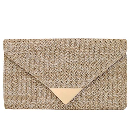 - Natural Straw Clutch, Natrual
