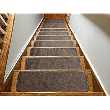 anti slip stair treads canada clear euro collection indoor skid resistant carpet tread set cappuccino brown non