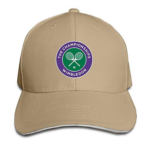 YAHQI The Championships Wimbledon Tenis Trucker Hat Natural Iwc Grande