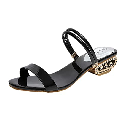 541a0cd4f8949 Amazon.com: Peigen Summer Casual Sandals for Women Ladies Fashion ...