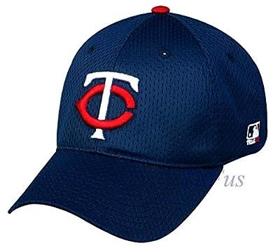 MLB Minnesota Twins Mesh Stretch Fit Youth Teen Kids Hat Cap