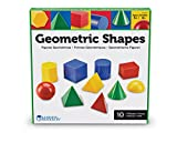 Learning Resources LER0922 Large Plastic Geo Solids, Set of 10