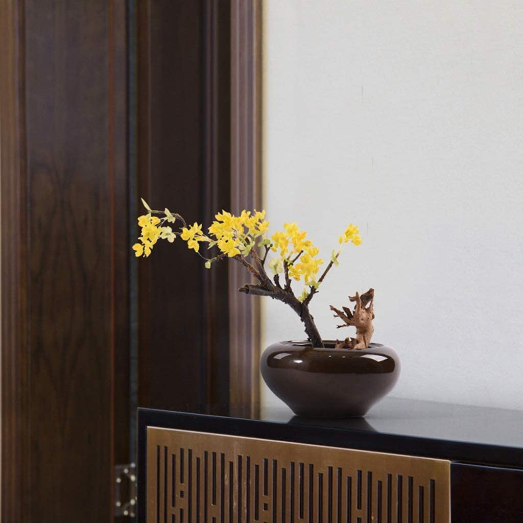 Sculpture Decoration New Chinese Yellow Fruit Tree Bonsai ...