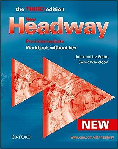 Amazon new headway pre intermediate workbook without key new headway pre intermediate workbook without key headway elt 3rd edition fandeluxe Image collections