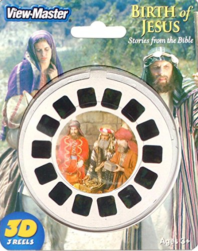 [Birth of Jesus - Stories from the Bible - ViewMaster 3 Reel Set in 3D] (Joseph From The Bible Costume)