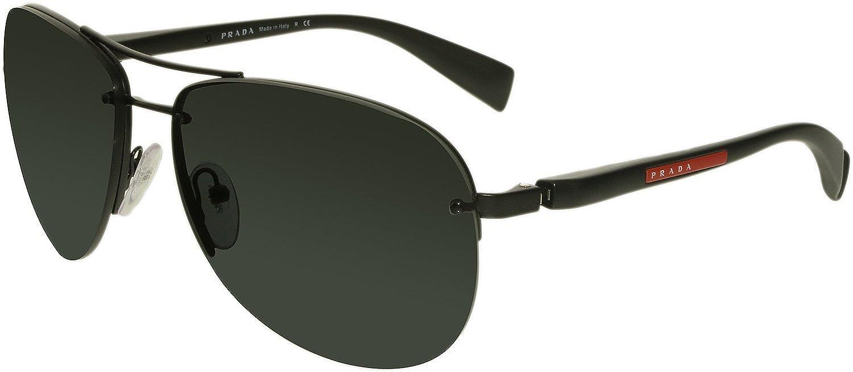 Amazon.com: Prada Sport (linea Rossa) ps56ms anteojos de sol ...