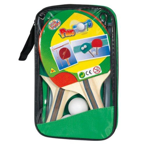 giochi preziosi rdf50205 sport&fun set ping-pong 2 racchette 3 palline e rete
