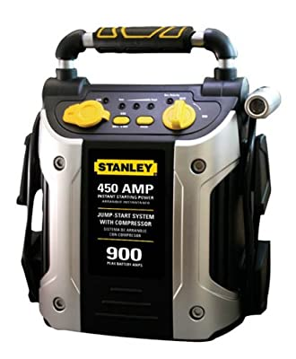 Stanley J45C09 450 Amp Jumper with Compressor