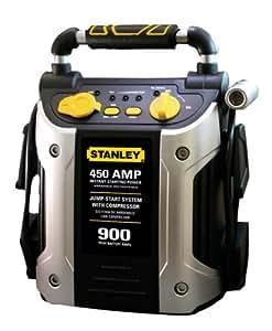 STANLEY J45C09 450 Amp Jumper with Compressor