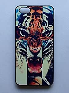 LYYF New Fashion Cool High Quality the Tiger Head Hard Case/cover for Iphone 5c