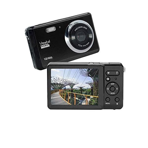 51og4fAf91L. SS600 - HD Mini Digital Camera with 3 Inch TFT LCD Display,Digital Point and Shoot Camera Video Camera for Kids/Beginners/Seniors (Black)