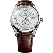 Louis Erard 1931 82216AA21.BDC21 40 Automatic Stainless Steel Case Brown Cafe Mat Leather Anti-Reflective Sapphire Men's Watch