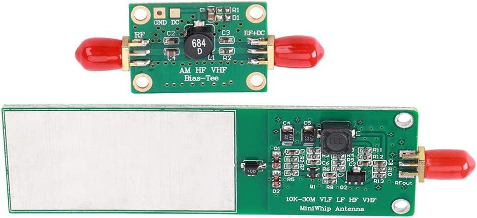 Antena activa Mini-Whip 10KHz-30MHZ, 2 piezas RTL-SDR ...