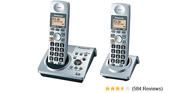 Best Link To Cell Cordless Phone 2020 Amazon.: Panasonic DECT 6.0 Series Dual Handset Cordless Phone