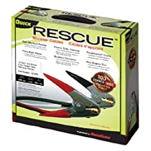 Quick Cable 602332 RESCUE 1 Gauge 20' 500 Amp Booster Cable