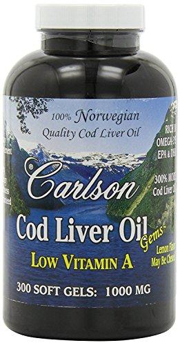 Carlson Norwegian Natural Vitamin Softgels