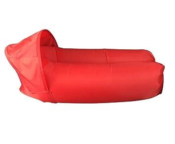 PW Playa colchoneta inflable 210D Wu Peng barco aire saco de dormir perezoso 240 * 70 * 50 (largo * ancho * alto): Amazon.es: Deportes y aire libre