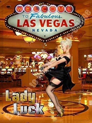Dama Luck Las Vegas Casino Pin-Up Chicas Apuestas Metal ...