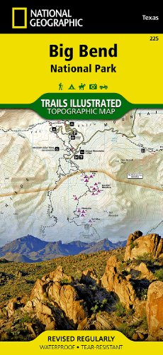 big bend map - 1