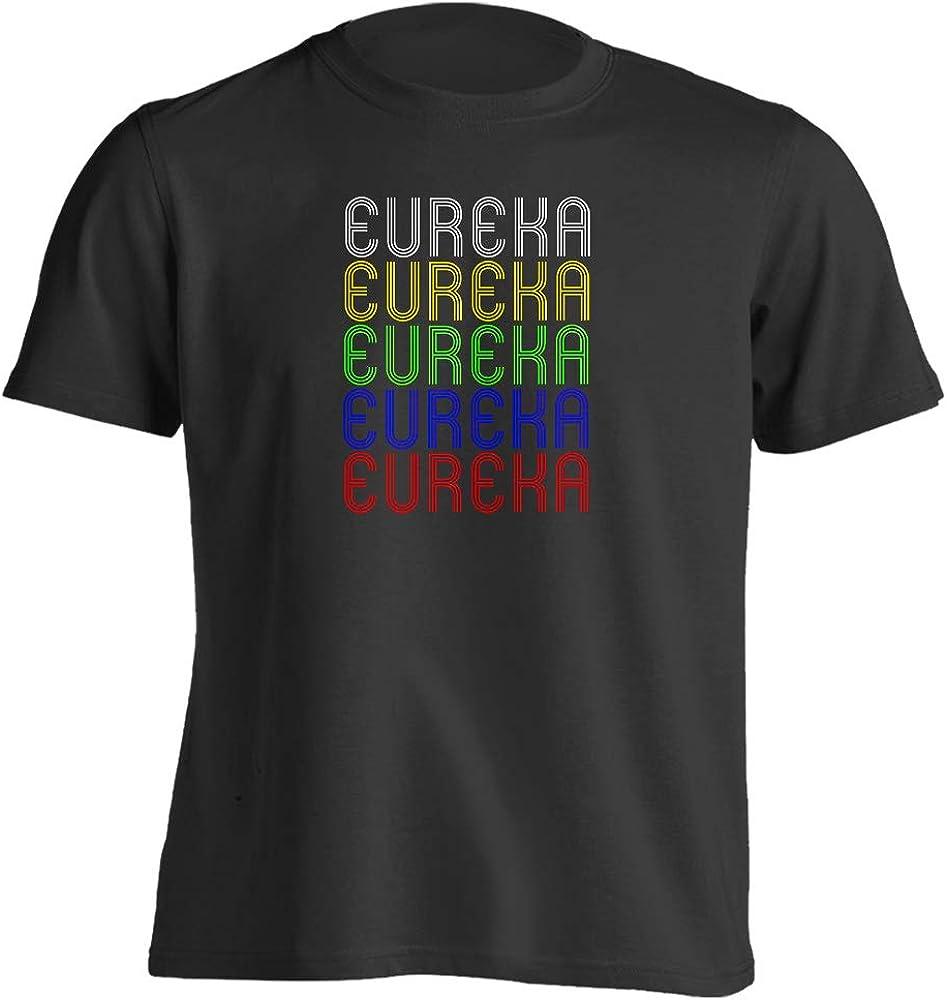 Retro Style Vintage Hometown - Eureka, KS 67045 - Souvenir - Unisex - T-Shirt