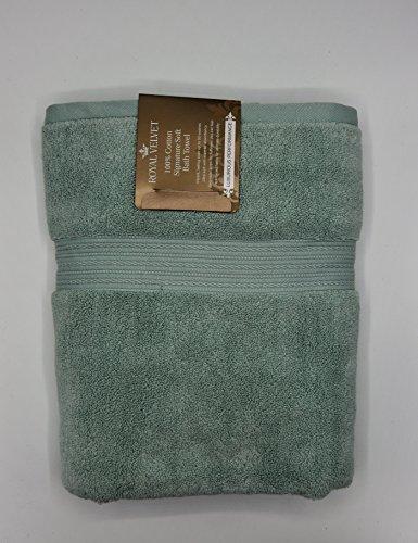 "Royal Velvet Bath Towel - Luxury Royal Velvet Signature Soft Solid Bath Towel - 30x54""- Balsam"