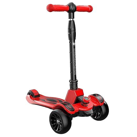 Patinete Scooter Plegable para niños con PU Altura de la ...
