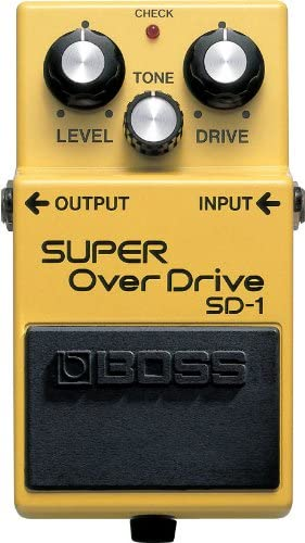 BOSS Super Overdrive Guitar Pedal (SD-1)