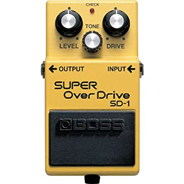 powerful Boss SD-1 Super