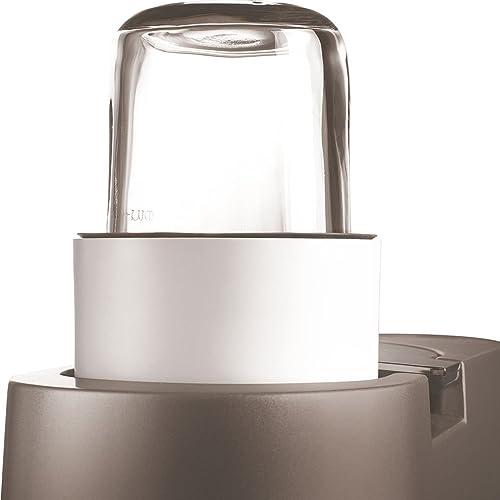 Kenwood AWTAT320B01 - mini hachoir/moulin + 4 Mini Cuves en Verre Couvercle pour robot Chef -Major
