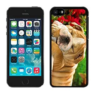 Best Buy Design Iphone 5C TPU Case Christmas Dog Black iPhone 5C Case 32