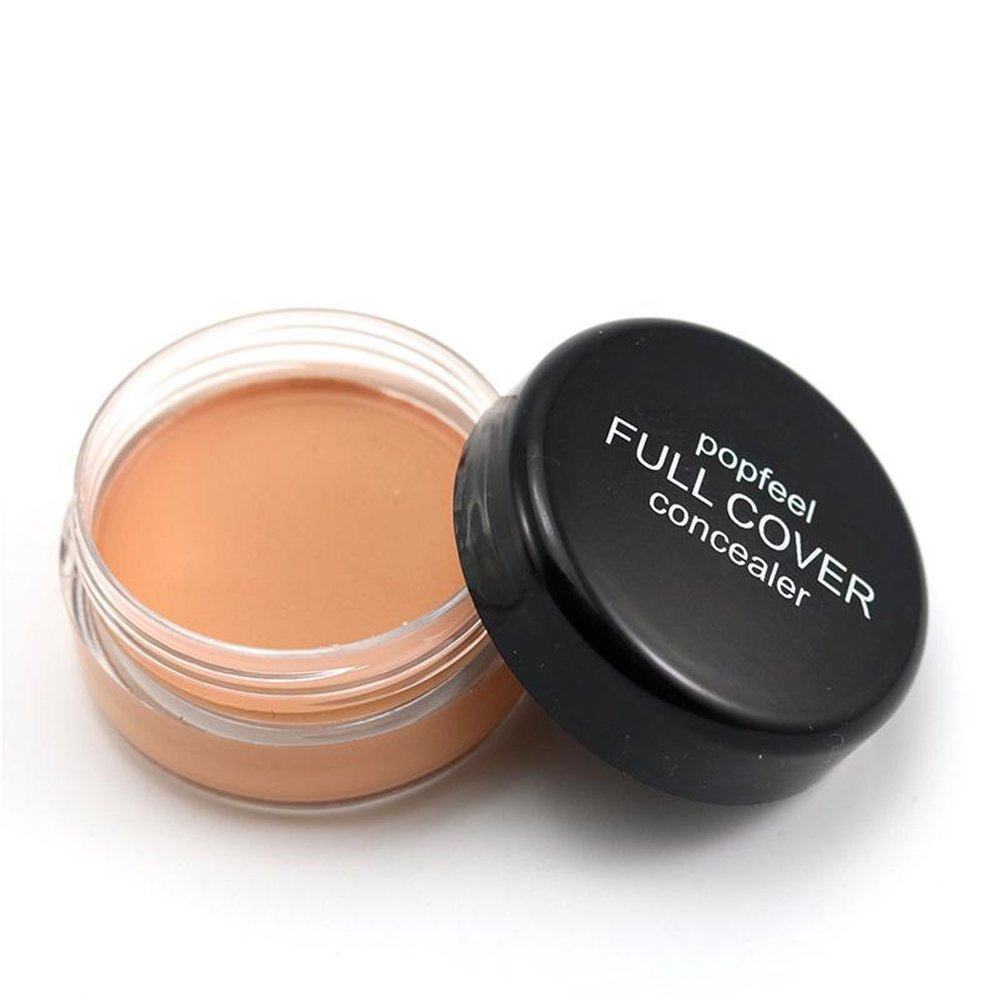 PEPECARE Makeup Primer oil Control Full Cover Pore Wrinkle Concealer Cosmetic Face Base Contour Palette (C)