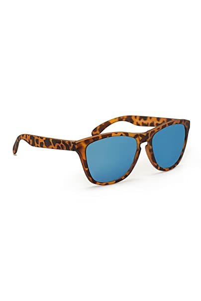 KOALA BAY - Gafas Polarizadas Palm Beach Marrón Carey Lentes Azul Espejo Koala Bay