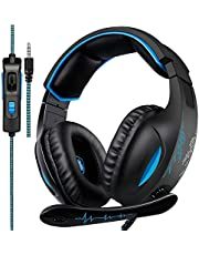 Sades Gaming Headset with noise cancelling