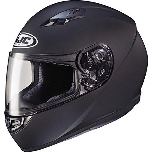 HJC Helmets CS-R3 Unisex-Adult Full Face Matte Motorcycle Helmet (Matte Black, Large) (Helmet Full 09 Face)