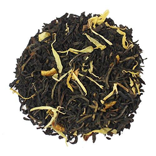 The Tea Farm - Mixed Orange Pikake (Jasmine) Fruit Tea - Premium Tropical Hawaiian Loose Leaf Black Tea Blend (16 Ounce Bag)