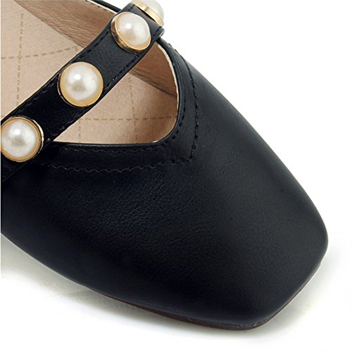 Comfort Mousse Shoes Mémoire EU35 Wide Taille Court Talon Mémoire Mesdames Plus Fit Couleur Formelle CN34 Womens A Bureau A Glisser Partie sur Work Le ZHANGRONG UK3 AUdYA