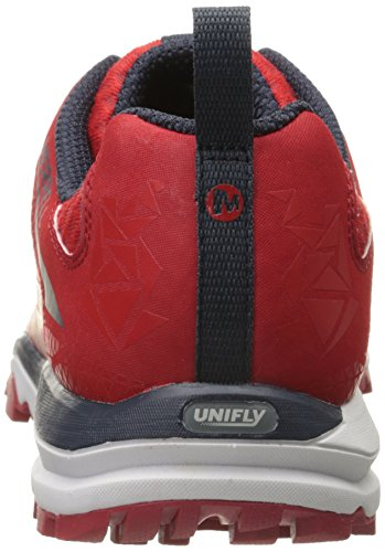 Merrell All Out Crush Light, Zapatillas de Running para Asfalto para Hombre Rojo (Red)