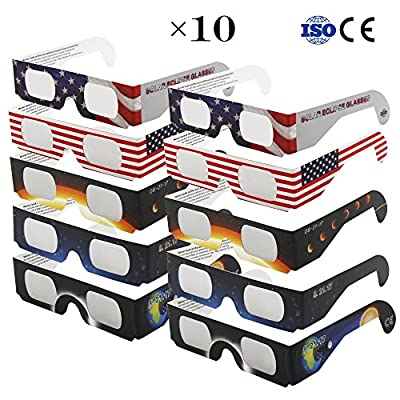 AyoGu Solar Eclipse Glasses — CE and ISO Certified