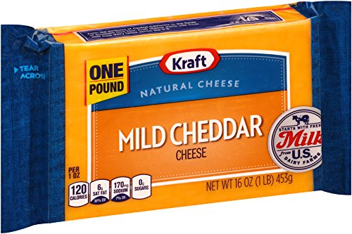 UPC 021000608386, Kraft Cheese, Mild Cheddar Cheese, 16 oz