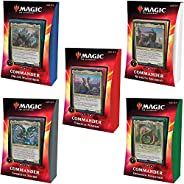 Magic: The Gathering Ikoria: Lair of Behemoths Commander Decks All 5 Decks