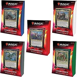 Magic The Gathering Ikoria: Lair of Behemoths Commander Decks | All 5 Decks | 20 Foil Legendary Creatures (C74210000)