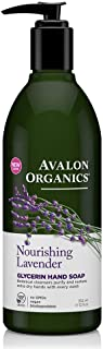 product image for Avalon Organics Glycerin Hand Soap, Nourishing Lavender, 12 Oz